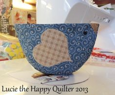 BlueBird Thread Catcher.  could make these into sewing weights
