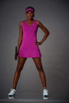 Venus Williams' #EleVen dress from her new Fleur de Monde collection