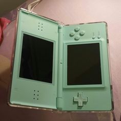 Nintendo DS Lite New with box and case. Bought it from Japan couple years but never play it, so it just like brand new but old version. Ice Blue color only sell in Japan at that momemt. Nintendo Other Ice Blue Color, Nintendo Switch Accessories, Nintendo Ds Lite, Baby Doll Accessories, Gaming Room Setup, Super Smash Bros, Video Game Console, Digimon, Nintendo Consoles