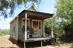 Vicky Too's little place has a loft, AC, a kitchenette for morning coffee or a bit more, and a bath that will have a shower, and water efficient toilet in house.| Tiny Homes
