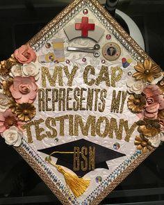 ernestineramseyenjoy - 0 results for diy graduation cap Nursing Graduation Pictures, College Graduation Pictures, Nursing School Graduation, Graduation Diy, Graduate School, Medical School, Graduation Cap Toppers, Graduation Cap Designs, Graduation Cap Decoration