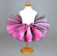 Party+Princess+Pink+&+Black+Tutu