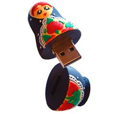 Home: Ten Totally Cute USB Flash Drives (via Super adorable Babushka Doll USB Drive = CUTE! )                                                                                                                                                      More