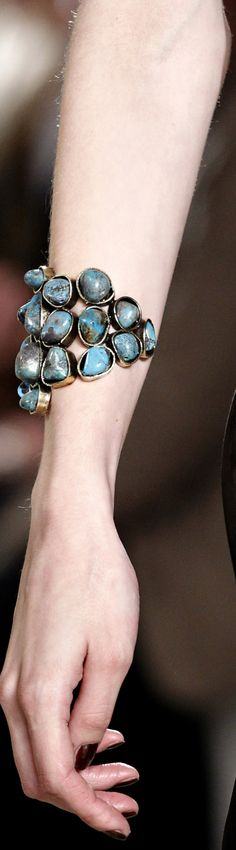 Emilio Pucciss-2011-ready-to-wear  Turquoise Bracelet