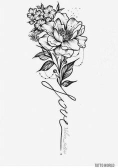 Trendy Ideas For Tattoo Sleeve Ideas For Women Flower Style Tatoeage ideas - flower tattoos designs - diy tattoo images - 21 Trendy Ideas for Tattoo Sleeve Ideas for Women Flower Style Tatoeage ideas flowe - Sleeve Tattoos For Women, Tattoo Sleeve Designs, Flower Tattoo Designs, Tattoo Designs For Women, Tattoo Flowers, Tattoo Roses, Tattoo Sleeves, Flower Tattoos On Back, Back Tattoo Women