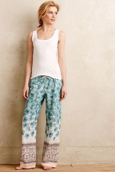 Central Park Sleep Pants - anthropologie.com