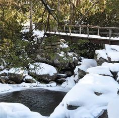 There's something so peaceful about winter in the Great Smoky Mountains.