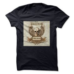 I'm A Trucker From Chicago T-Shirts, Hoodies. BUY IT NOW ==► https://www.sunfrog.com/States/Im-A-Trucker-From-Chicago.html?id=41382