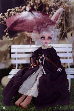 OOAK ~ Bunny ~ Monster Doll OOAK Repaint Custom