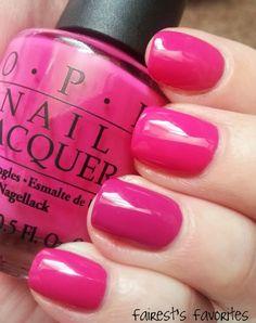 NOTD: OPI Pink Flaminco vs. OPI Dim Sum Plum