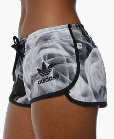 Adidas Women Smoke Shorts Black