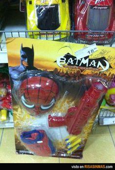 Ha nacido un nuevo superhéroe: Spider-Batman.