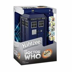 @Robert Gray .....I NEED THIS!!!!!Yahtzee: Dr Who Edition: Yahtzee: Dr Who Edition