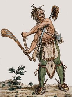 Traditional Iroquois Weapons The Iroquois are an American Indian ...