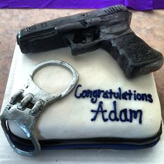 Police cake...this is pretty cool!