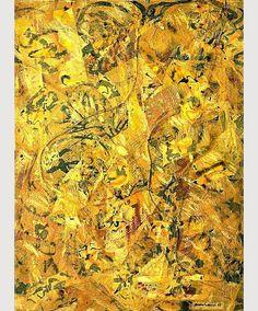 art-and-fury: Number 2 - Jackson Pollock Action Painting, Drip Painting, Jackson Pollock Art, Jack Pollock, Pollock Paintings, Oil Paintings, Lee Krasner, Paul Jackson, Willem De Kooning