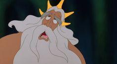 You said it King Triton (Disney Expressions and Quotes) Disney Parks, Disney Pixar, Walt Disney, Disney Characters, Disney And More, Disney Love, Disney Stuff, Disney Expressions, Princess Art