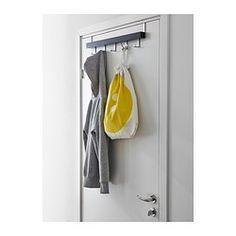 TJUSIG Aufhänger für Tür/Wand - schwarz - IKEA 9,99