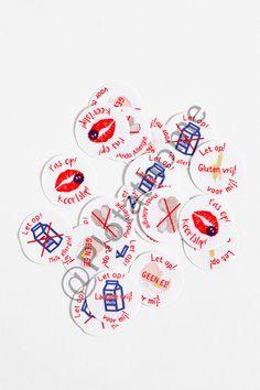 Maak zelf je Medical Alert stickers