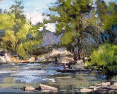 Early Summer by Margi Lucena Pastel ~ 8 x 10