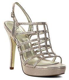Adrianna Papell Maya Jeweled Dress Sandals