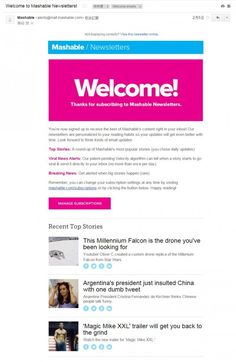mashable_welcome_email