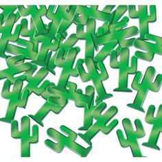 Fanci-Fetti Cactuses for the table makes it pop! Can be used for crafts as well.