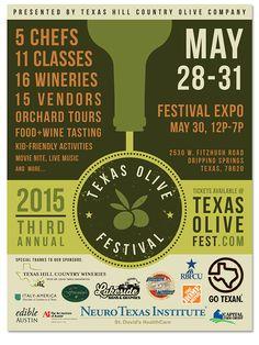 2015 Texas Olive Festival