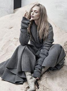 #SashaPivovarova by #JoshOlins for #TheLastMagazine F/W 2013-14