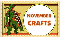 link to lots of november crafts