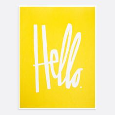 It's the Hello (Yellow) print.