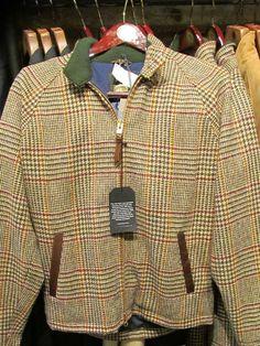 Tweed Golf Jacket