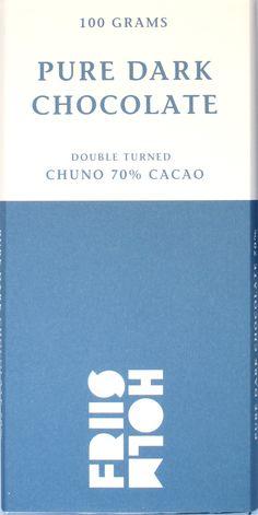 Friis-Holm Chuno 70% Double Turned Dark Chocolate
