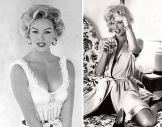 Prior to starting her acting career, Charlize Theron modeled in Europe. Here an 18 year old Charlize does a Marilyn-themed photo shoot for the French magazine Madame Figaro in Marilyn Monroe, Marilyn Film, Fake Images, French Magazine, Photoshoot Themes, Lisa Marie Presley, Norma Jeane, Charlize Theron, Look Alike