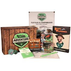 Coyote Peterson's Brave Wilderness Adventure Kit by Coyote Peterson's Brave Wilderness - Shop Online for Toys in the United States Coyote Pack, Coyote S, Common Snapping Turtle, Snake Turtle, Reptiles And Amphibians, Mammals, Turtle Figurines, Architecture Tattoo, Art Design
