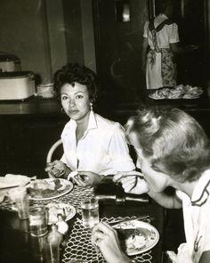 Rita Morino Eats At The Hollywood Studio Club