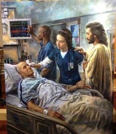 I feel God's guidance, blessing, and gift through my nursing school journey. I love what this painting captures, and I hope to build my nursing practice around it.