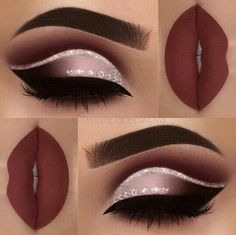 eye makeup is bad makeup classes eye makeup goes with a red lip makeup 2017 step by step makeup under eye makeup night many eye makeup brushes do i need makeup you need Cute Makeup, Prom Makeup, Gorgeous Makeup, Pretty Makeup, Wedding Makeup, Perfect Makeup, Homecoming Makeup, Makeup 2018, Hair Wedding