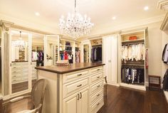 Walk-in closets have always been portrayed as the symbols of wealth. In movies, at times walk-in closets are owned by higher class character, full of branded clothing and expensive belonging. Master Closet Design, Walk In Closet Design, Closet Designs, Bedroom Designs, Walk In Closet Ikea, Make A Closet, Glam Closet, Attic Closet, Walking Closet