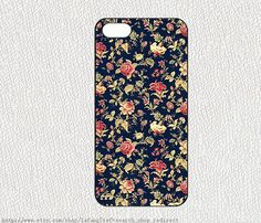Vintage Floral iPhone 5S Case,Vintage Embroidery Floral iPhone 5C Hard Case,cover skin case for iphone 5S case,More styles for you choose on Etsy, $0.20
