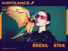 Nowa kampania Air France / New Air france campaign EXAMPLE.PL