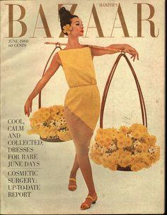 Harper's Bazaar June 1960 - EphemeraForever.com