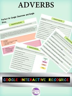 If your upper elementary or middle school students are still struggling with adverbs during grammar practice, then they need this English language arts resource! This Google Drive resource comes with seven adverbs practice activities, individual links, and answer keys. Combined, these materials and activities will help your English language arts students get a grasp on adverbs. Make grammar instruction easier by clicking through to learn more now! #grammar #Englishlanguagearts #ELA #secondary Grammar Practice, Grammar And Punctuation, Teaching Grammar, Teaching Tips, Ela Classroom, High School Classroom, Google Classroom, Texas Teacher, Thing 1