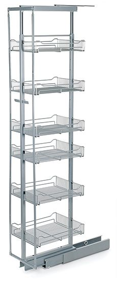 Lee Valley Larder Unit, $289 - waaaant. I would love to rip out the annoyingly-deep and hard-to-use shelves in my pantry and slip in one of these bad boys instead