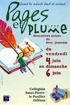Pages et plume 1999: rencontres autour du livre jeunesse/conception Mister Mi (1999)