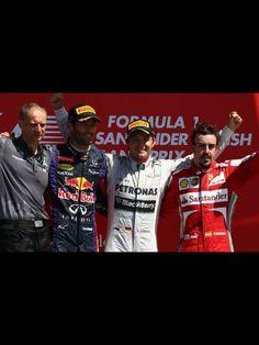 British GP podium 2013