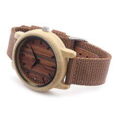 Mens Luxury Top Design Watch Men Wood Wristwatches Designer Watches Luxury Bamboo Watch Gift Box Accept