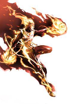 Firestorm by naratani on DeviantArt Marvel Dc Comics, Dc Comics Heroes, Marvel E Dc, Dc Comics Characters, Dc Comics Art, Comic Book Heroes, Comic Books Art, Comic Art, Marvel Heroes