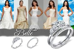 Belle (Engagement Ring by Kirstie Kelly) #BeautyAndTheBeast