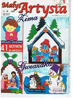 Maly Artysta 2004-6 - jana rakovska - Picasa Webalbumok Christmas Crafts, Christmas Decorations, Christmas Ornaments, Holiday Decor, Magazine Crafts, Magazines For Kids, Paper Cutting, Something To Do, Decoupage